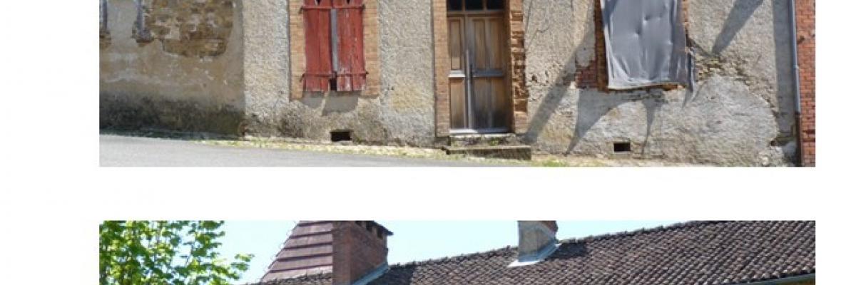 Illustration habitat centre-bourg