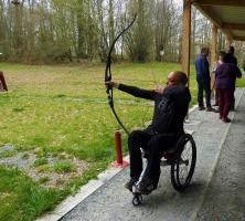 Activité de tir à l'arc